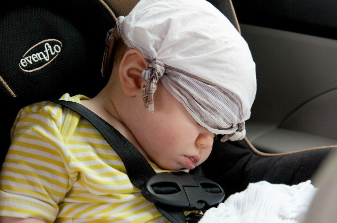 Study says that prolonged use of car seats can put babies at risk