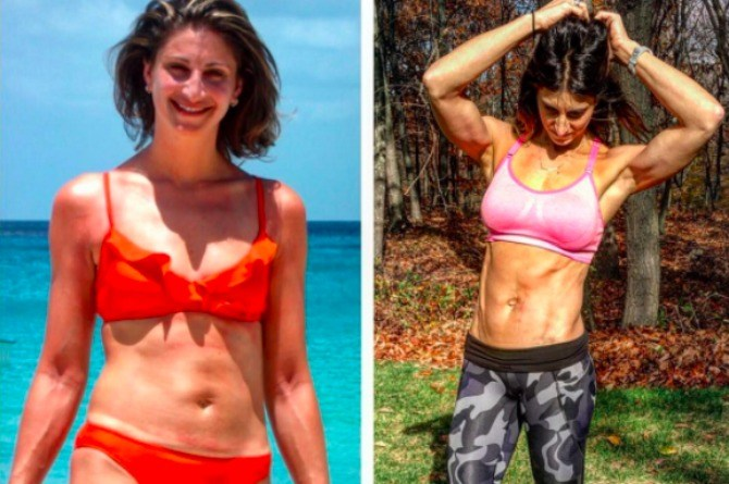 45-year-old mom proves that it's never too late to get in shape