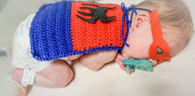 Superhero preemies: Hospital dresses up premature babies in superhero costumes