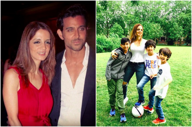 Hrithik-Sussanne's holiday pics with friends show us how ex-couples SHOULD behave after a divorce!