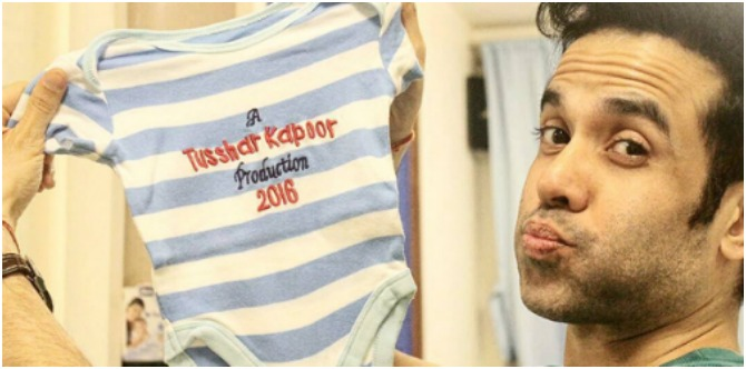 Daddy Tusshar Kapoor shares something really sweet about his baby boy!