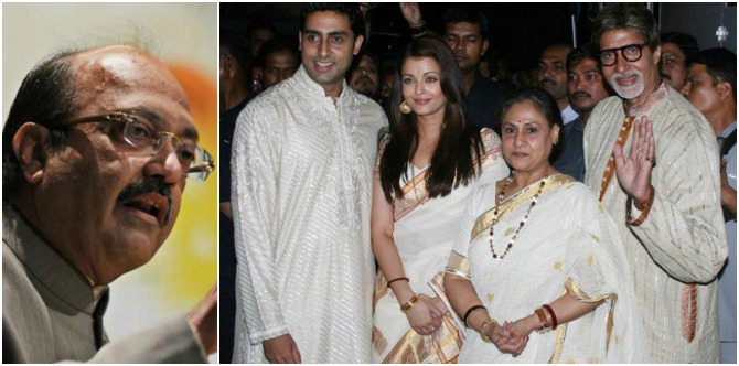 Shocking! Amar Singh says Jaya and Amitabh Bachchan live separately