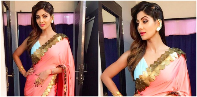 Shilpa Shetty Kundra's traditional Indian outfit is inspiring! Take a look