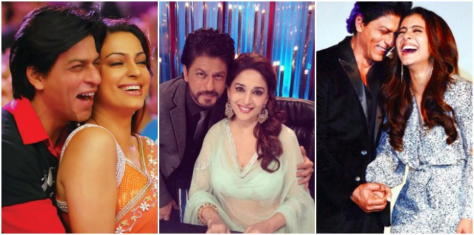 Shocking! Shah Rukh Khan reveals the REAL reason mums Kajol, Madhuri and Juhi are not cast as leading ladies!