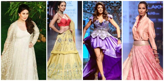 In Pics: Yummy Mummies steal the show at the Lakme Fashion Week!