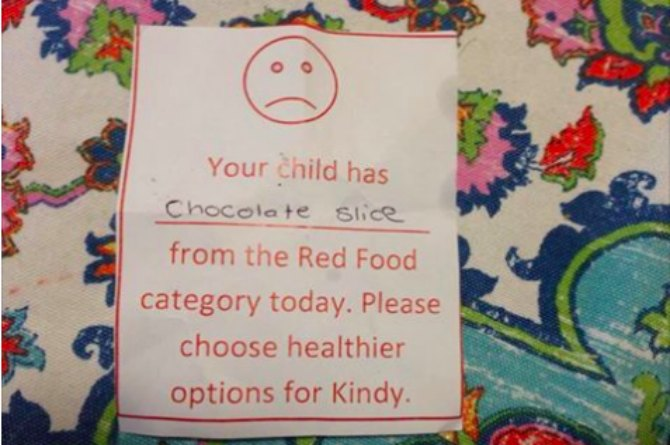 3-year-old's mum receives nasty note from nursery for THIS!