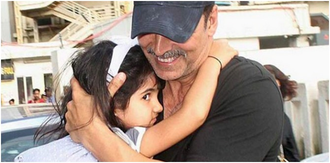 Akshay Kumar's daughter Nitara won't inherit his wealth so he's giving her THIS gift instead!