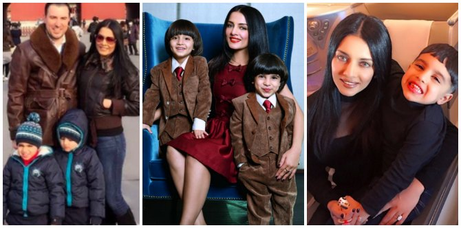How cute! Celina Jaitly's twin boys are all grown up! (Pics Inside!)