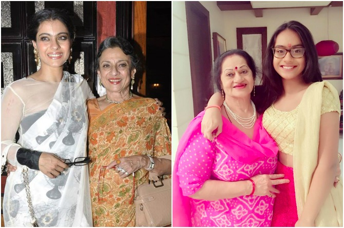 Kajol Is Very Close To Her Mother In Law Here S Proof