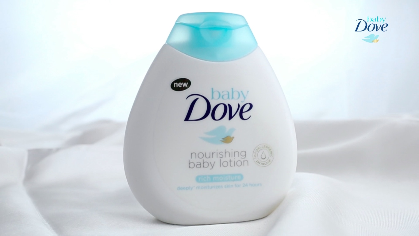Mum Review: Baby Dove Rich Moisture Baby Lotion keeps precious baby skin healthy and nourished
