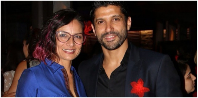 Farhan Akhtar's ex-wife Adhuna has moved on and may be in love again!