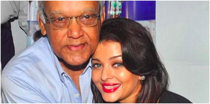 A worried Aishwarya Rai Bachchan is not willing to leave her father's side