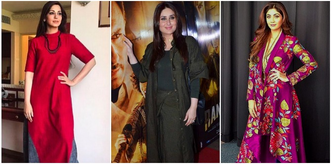 Mums, here are 3 unconventional kurtas that can make you look instantly slimmer