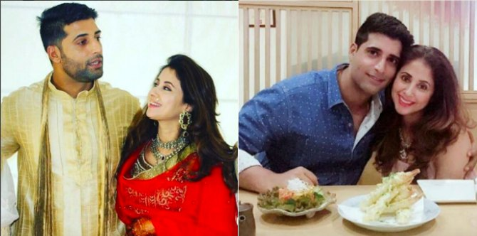Love birds Urmila Matondkar and Mohsin Akhtar celebrate their first wedding anniversary!