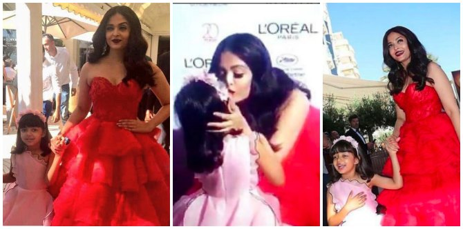 She might be a diva for the world, but Aishwarya Rai Bachchan is a mother first (here's proof!)