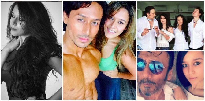 These pics of Jackie Shroff's daughter Krishna prove that she'd be a sensation like brother Tiger