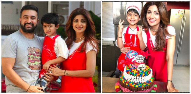 As Rahyl turns one, an excited Dad Riteish Deshmukh bakes a birthday cake for his little boy!