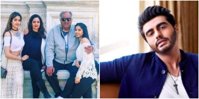Sridevi's stepson Arjun Kapoor wants nothing to do with her or his stepsisters!