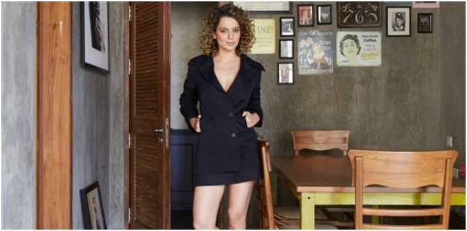 In pics: Maasi-to-be Kangana Ranaut's home is an architectural marvel!