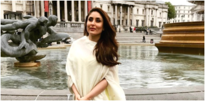 New mum Kareena goes on her first solo trip abroad and THIS is where she's left Taimur!