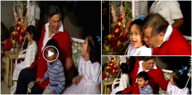 Must-watch: This throwback video of Kareena and Ranbir with dadu Raj Kapoor will remind you of your dadaji!