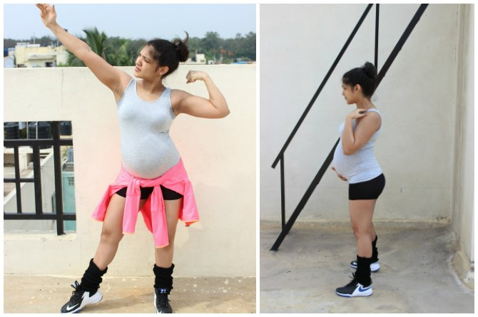 Exclusive: This to-be mum feels that pregnancy is no excuse to NOT exercise!