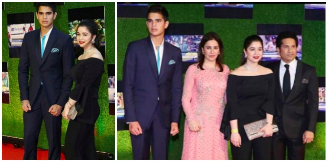 OMG! Sachin Tendulkar's children Sara and Arjun look like stars already!