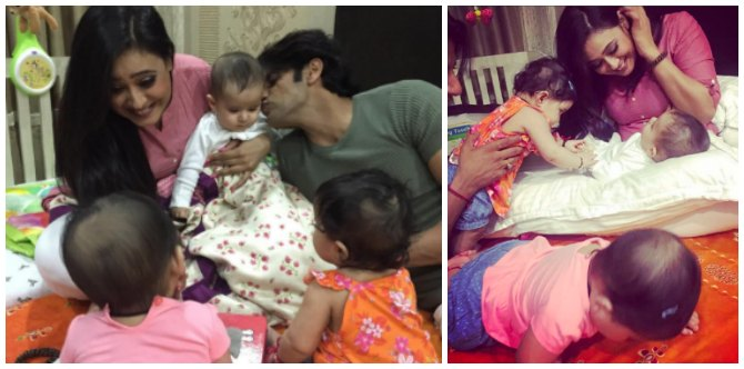 In pics: Karanvir Bohra's twins meet Shweta Tiwari's little boy Reyansh and other celeb pals