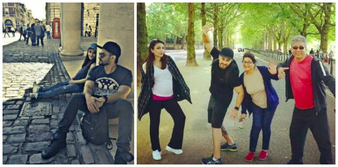 Pregnant Soha Ali Khan is in London to spend some time with her in-laws
