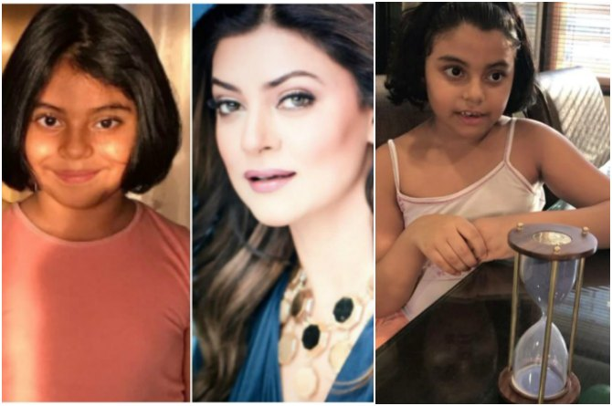 Here's how single mum Sushmita Sen is turning daughter Alisah into a math genius!