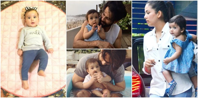 In pics: Misha Kapoor is starting to look a lot like dad Shahid. Here's proof