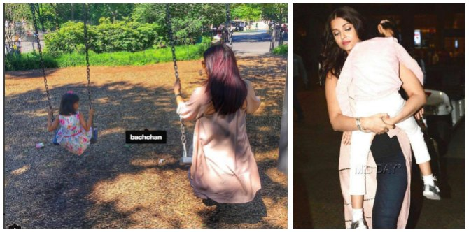 Look! Daughter Aaradhya brings out mum Aishwarya Rai Bachchan's inner child