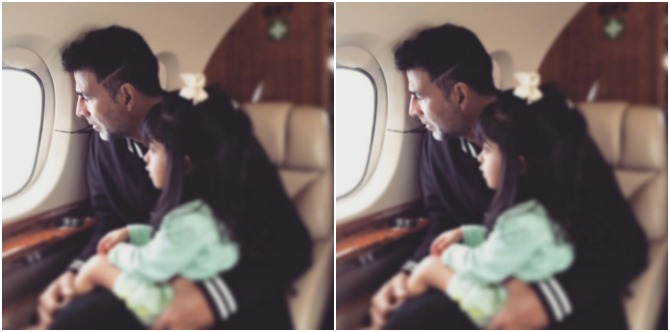 Dad Akshay Kumar has found a UNIQUE way to connect with his daughter Nitara