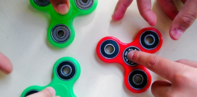What exactly are fidget spinners, and should you buy one for your kid?