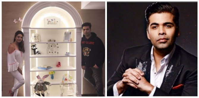 Karan Johar removed a few things from his twins nursery due to THIS superstitious reason!