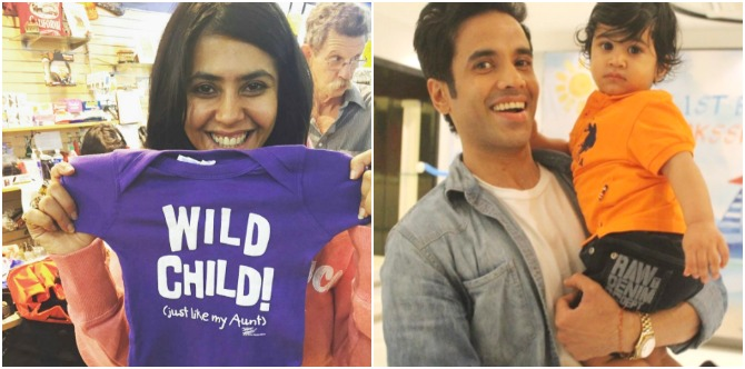 Bua Ekta Kapoor wants her nephew Laksshya to grow up with THIS special skill