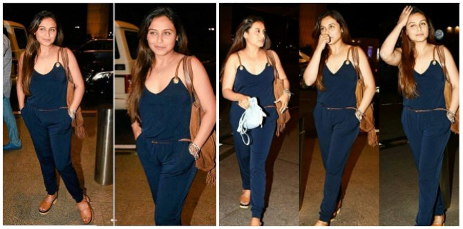 Rani Mukerji teaches us one important lesson about post pregnancy weight loss...take your time