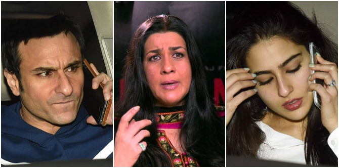 Ex-wife Amrita Singh slams Saif Ali Khan for his 'concern' over daughter Sara's career