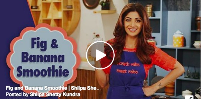 Shilpa Shetty Kundra's healthy special summer smoothie recipe is worth a try!