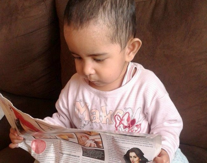 4 tips that helped my 3-year-old develop a reading habit herself