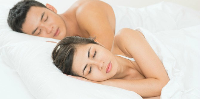 Sleep, or sex? Which one would you choose?