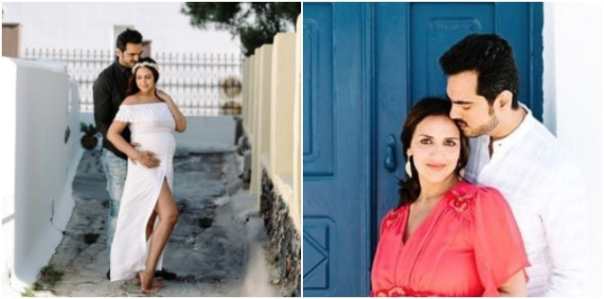 In pics: Mum-to-be Esha Deol just had the most amazing maternity shoot in Greece