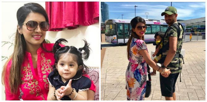 """Harbhajan Singh's daughter """"Nonu's"""" pic will brighten up your day!"""