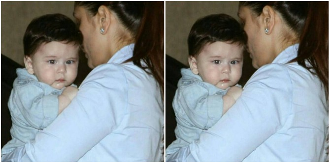Mummy Kareena FINALLY lets Taimur out so he can indulge in his favourite activity