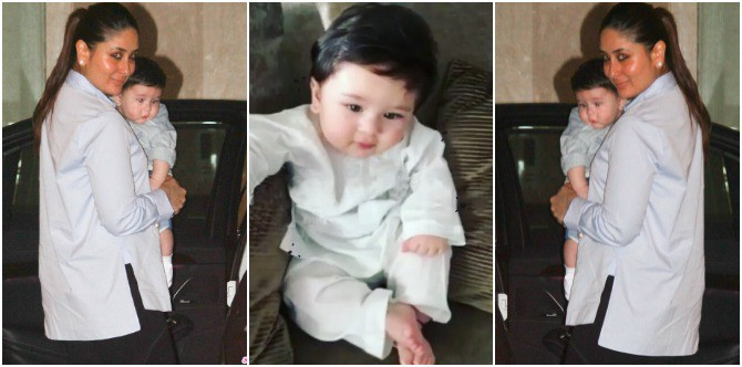 New mum Kareena is very scared of leaving Taimur alone because of THIS reason!