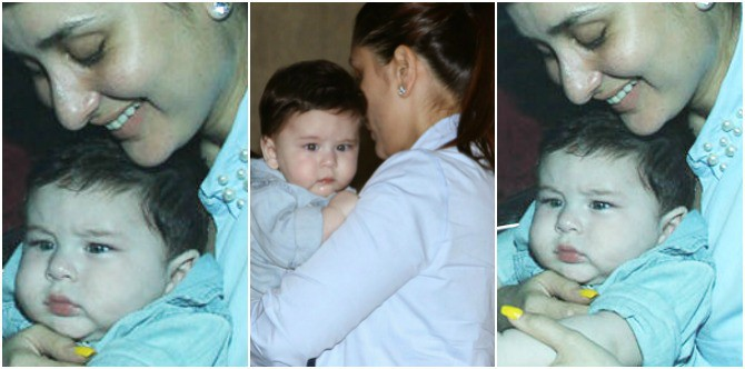 New mum Kareena jokingly REVEALS the name of Taimur's first solid food?