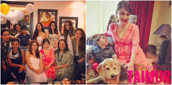 In pics: Adorable Taimur steals the limelight at bua Soha's amazing baby shower!