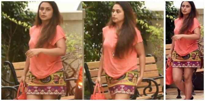 Is mummy Rani Mukerji on a yo-yo diet?