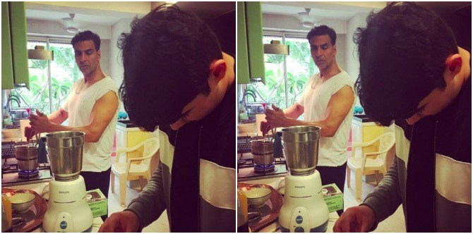 Doting parents Twinkle and Akshay Kumar have been teaching Aarav THIS life skill