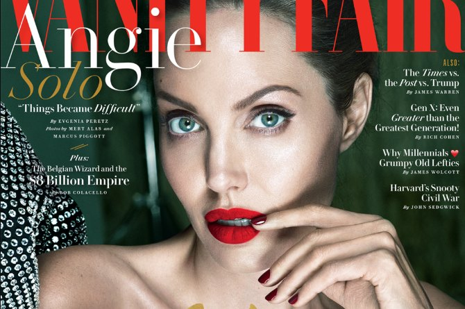 Angelina Jolie opens up about being a single mum